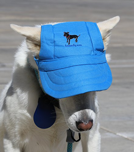 LoveWally Dog Outdoor PET Hat Blue ♦ Adjustable Authentic (Large) by LoveWally (Image #4)
