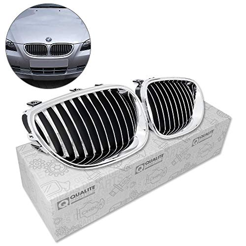 WonVon Universal Car Grille Rhombic 100cm x 33cm Aluminium Car Vehicle Racing Grille Mesh Vent Car Tuning Grill Silver Mesh Sheet for Bumper Body Kit Fender