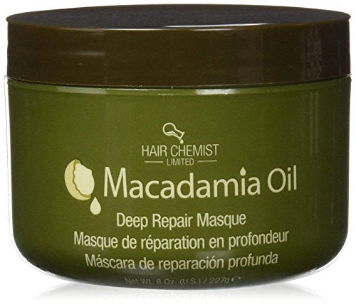 Hair Chemist Macadamia Oil Deep Repair Masque Net Wt. 8 oz (Repair Masque)