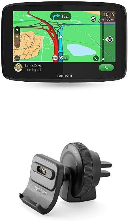 Tomtom Navigationsgerät Go Essential 6 Zoll Stauvermeidung Dank Tomtom Traffic Karten Updates Europa Freisprechen Updates über Wi Fi Tmc Aktiv Lüftungsschlitzhalterung Navigation