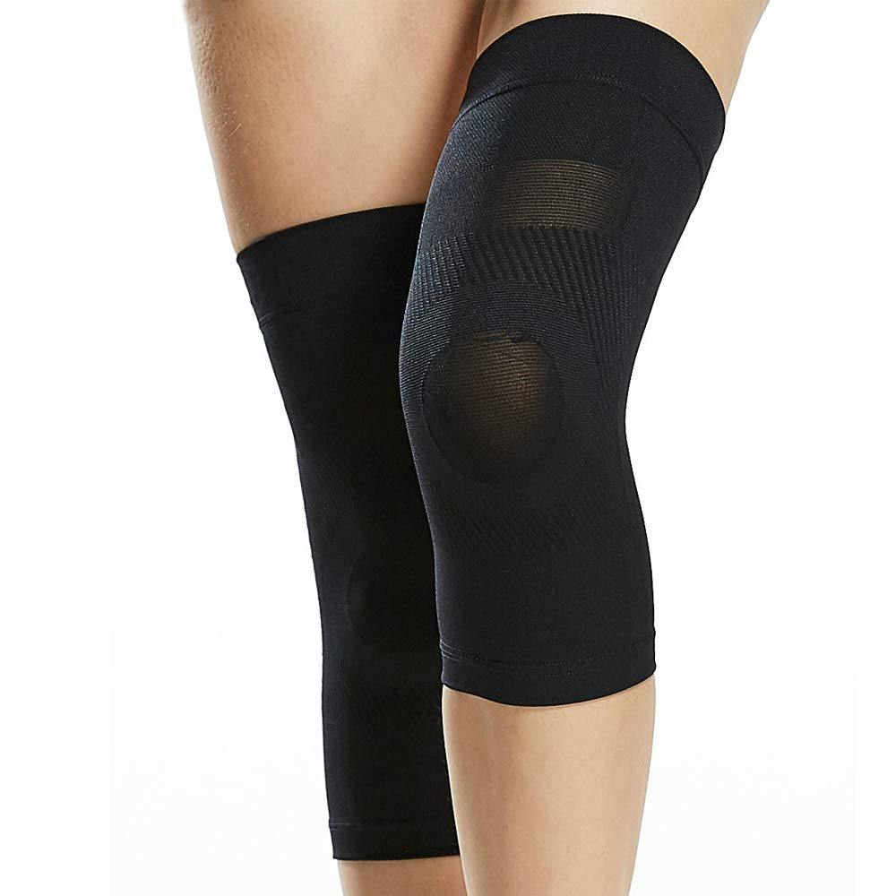 29ada2524b Knee Compression Sleeve for Men & Women – Yeshore Best Support Brace ...