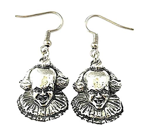 Stephen King Horror Movie IT Penny Wise French Wire Earrings