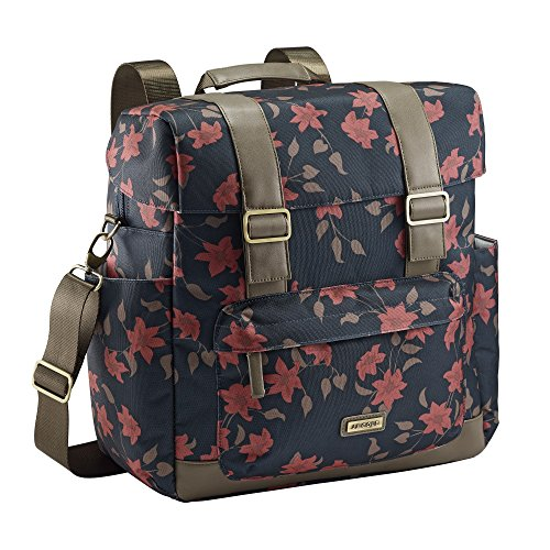 Floral Diapers (JJ Cole Knapsack Diaper Bag, Navy Floral)