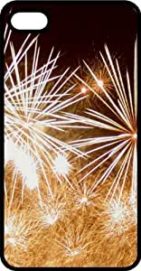 Exploding Fireworks Tinted Rubber Case for Apple iPhone 5 or iPhone 5s