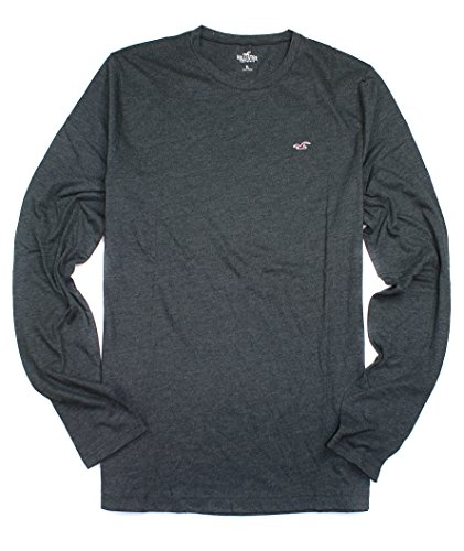 hollister-mens-iconic-crew-tee-long-sleeve-shirt-ho25-x-large-130-charcoal