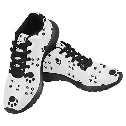 Interestprint Femmes Jogging Running Sneaker Léger Aller Facile À Pied Casual Confort Sport Chaussures De Course Multi 21