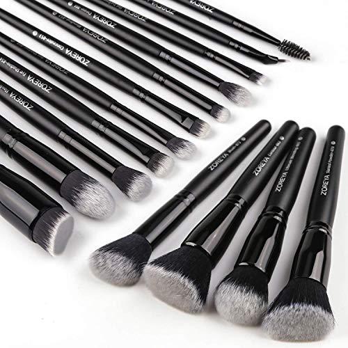 Zoreya Makeup Brushes 15Pcs