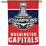 #4: WinCraft Washington Capitals Stanley Cup 2018 Champions House Flag