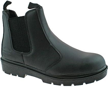 TALLA 42 EU. Dickies FA23345 SBL 8 S1-P Super Botas de seguridad, color negro, talla 8