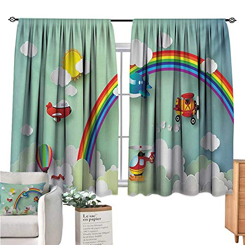 hot air balloon window curtains - 4