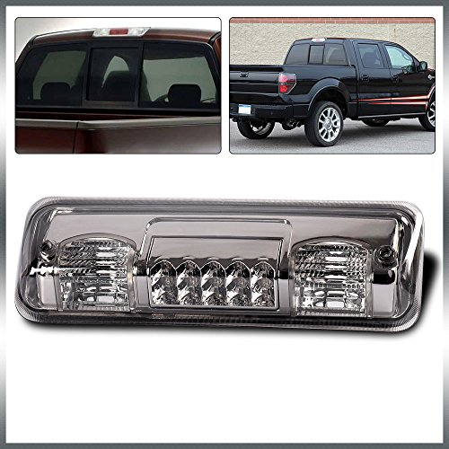 G-PLUS for 04-08 Ford F-150 F150 Ford Lobo for 07-10 Ford Explorer for 06-08 Lincoln Mark LT Pickup Truck LED Third 3RD Brake Tail Cargo Light Lamp Color Smoke