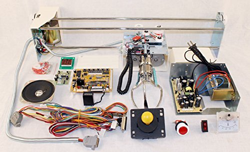 Crane Machine Kit with All Components and Manual, Build Your Own Arcade Crane Machine by RetroArcade.us