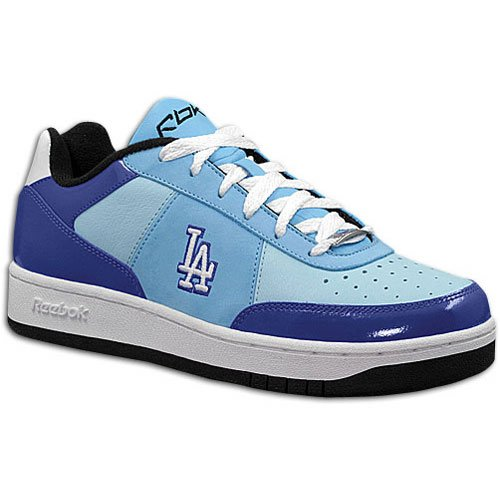 Dodgers Mlb Clubhouse (Dodgers Reebok Men's MLB Clubhouse Exclusive ( sz. 13.0, White/Ion Blue/Black : Dodgers ))