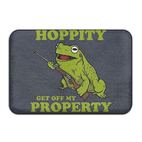 NEXT DAY ONE Hip Hop Frog Doormats Outdoor Doormats for Front Door Doormats for Entrance Way Outdoors Large