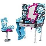 Mattel Monster High Y0404 - Tocador de Frankie Stein con accesorios