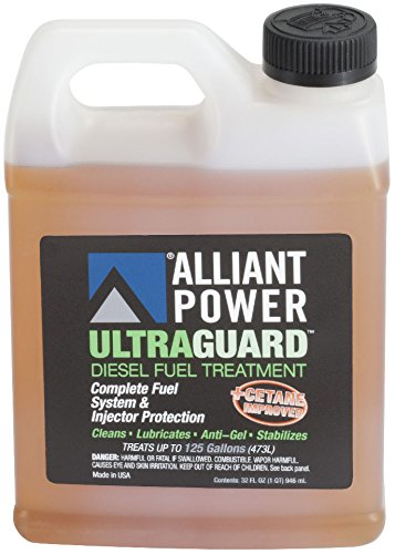 Alliant Power ULTRAGUARD Diesel Fuel Treatment - 12 Pack of 32 oz Jugs # AP0502 by Alliant Power