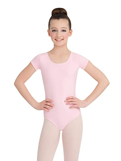 11ffcca35c4c Amazon.com   Capezio Short Sleeve Leotard - Girls - Size Child Large ...