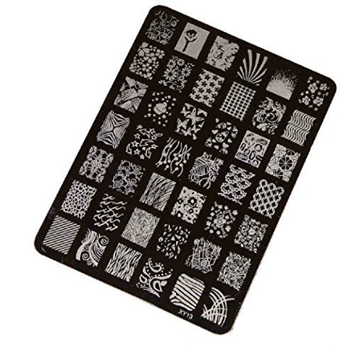 Stamping Printing Plate Manicure Nail Art Decor 14.5x10.5cm - 3