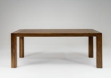 SAM® Esszimmer Esstisch Vermont Aus Nussbaum, Massiv Tisch Mit  Pflegeleichter Oberfläche, Natürliche
