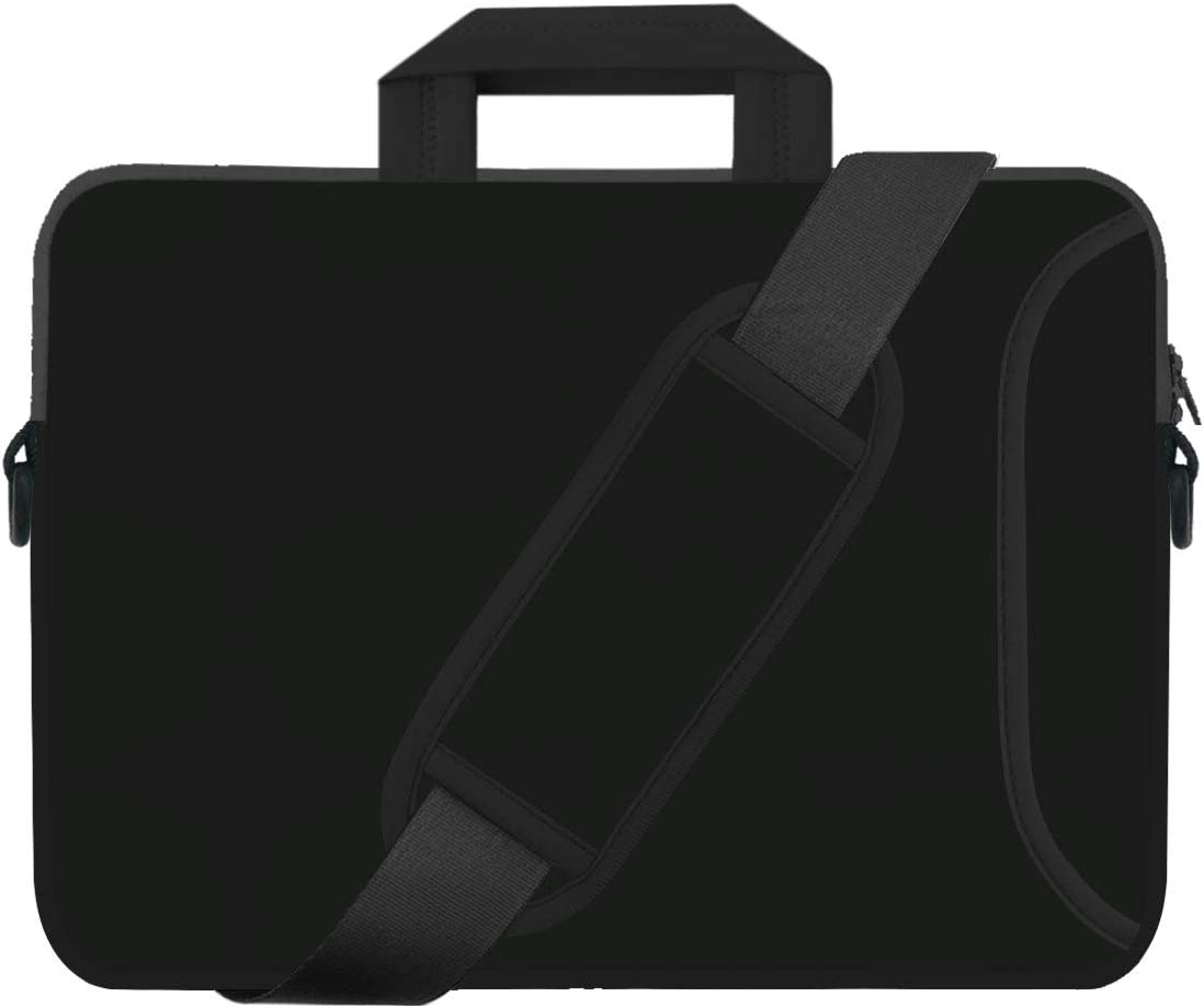 "Laptop Shoulder Bag 15.6,15""-15.4 inch Colorful Retro Elephant Neoprene Laptop Case Sleeve with Carrying Handle and Adjustable Shoulder Strap Compatible for Notebook"