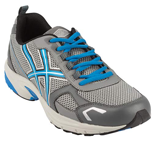 Men Running Trainers Athletic Shoes (11, Gray)