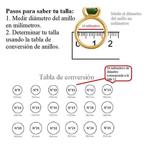 ❤Anillo Personalizado ❤ Alianza Personalizada ❤ Alianza grabada❤ Regalo Aniversario Regalo Parejas ❤ Alianza Bölbo® Acero Plata (15): Amazon.es: ...