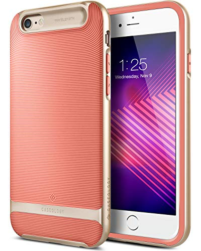 Caseology [Wavelength Series] iPhone 6S Plus/iPhone 6 Plus Case - [Stylish & Protective] - Pink