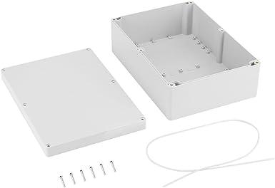 Caja de conexión eléctrica IP65 resistente al agua, conector de cable, caja de conexiones eléctrica de plástico ABS, caja para proyectos al aire libre: Amazon.es: Iluminación