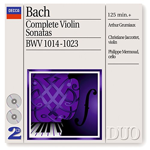 Bach, J.S.: Complete Violin So...