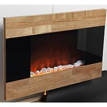 Meridian Point EFW-1/2347 1500-Watt Wooden Finish Electric Fireplace