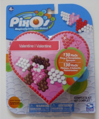 Pixos valentine kit angel hearts and cupid bear