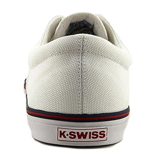 K-Swiss para hombre de Surf N Turf og 50¿ Wht-ClscBlu