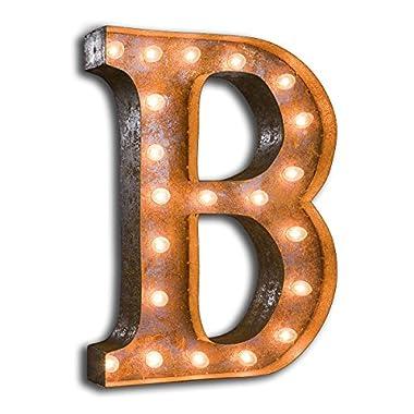 Letter B - 24  Vintage Marquee Lights - The ORIGINAL!