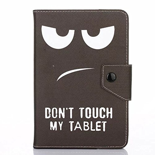 PHEVOS 10 Tablet Pc Case cover, Foldable and Solid Stand Case, Compatible with All Universal 10Tablets PC (eye)
