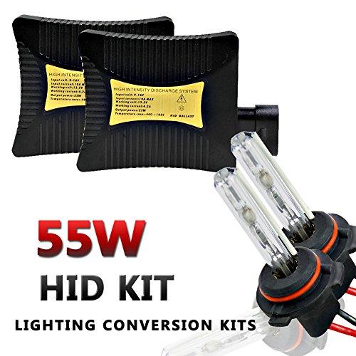 55W Xenon HID Conversion Kit H1 4300K Lighting Lamp - 9