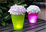 Instapark Flower Power Color changing LED Plant Pot (White)