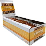 Earnest Eats Chewy Breakfast Bars with Whole Grain Oats and Almond Butter, Superfood, Vegan, 190mg Omega 3, Almond Trail Mix,