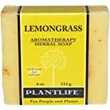Lemongrass 100% Pure & Natural Aromatherapy Herbal Soap- 4 oz (113g)