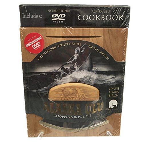 UPC 791218017606, Alaskan Ulu Bowl and Knife with Instructional DVD & Cookbook - Bald Eagle Etched Art