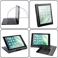 XHutu iPad Wireless Bluetooth Keyboard Case (Black)