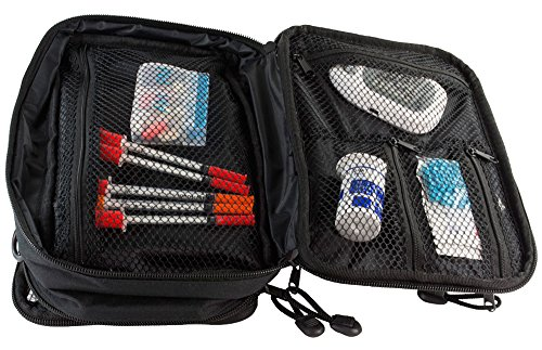 ChillMED Elite Diabetic Insulin Cooler Bag Travel Case with Two 6oz Cold Packs (Burgundy) 10'' x 7'' x 3'' by ChillMED (Image #3)