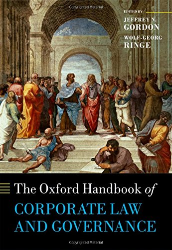 - The Oxford Handbook of Corporate Law and Governance (Oxford Handbooks)
