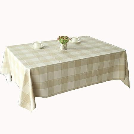 GEOLBU Manteles de vinilo, manteles de plástico para mesa, mantel ...