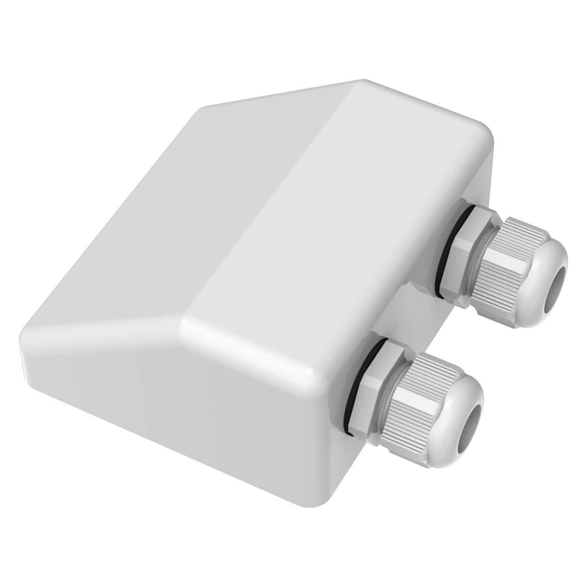 ALLPOWERS Doble Glándula Entrada de Cable Premium ABS Techo ...