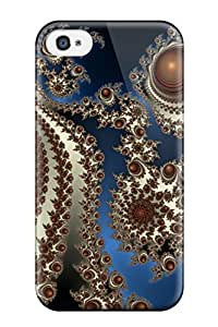 Anne C. Flores's Shop Hot High Quality Fractal Tpu Case For Iphone 4/4s