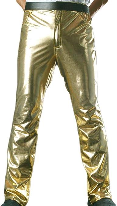 Amazon Com Michael Jackson History Pantalones Clasicos Mj Golden Largos Para Hombre Y Mujer Cosplay Y Aficionados Color Dorado Clothing