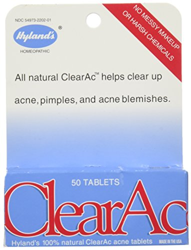 Hylands ClearAc Tablets Natural Dissolving