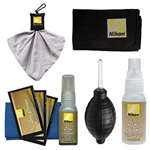 Amazon.com : Nikon Cleaning Combo Kit: Nikon 3-Piece Lens