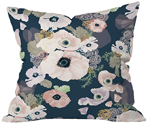 Cheap  Deny Designs Khristian A Howell Une Femme In Blue Throw Pillow, 20..