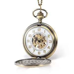 Reloj de Bolsillo Automático Mecánico Clásico de Hombre/Caballero